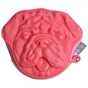 La Chaise Longue - porte-monnaie carlin rose - Portefeuille