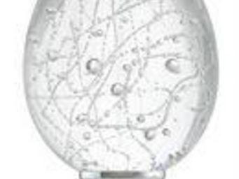 Les Verreries De Brehat - perlée ovoïde - Boule D'escalier