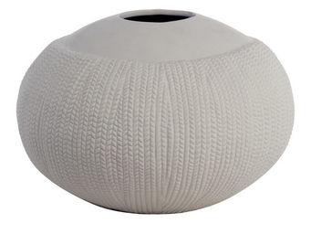 Interior's - vase rond en porcelaine - Vase À Fleurs