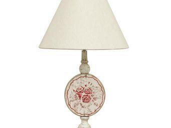 Interior's - pied de lampe roses - Lampe À Poser