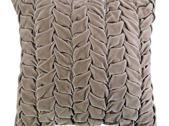 Interior's - housse de coussin gris épis - Housse De Coussin