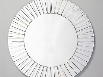 WHITE LABEL - bright miroir mural design en verre - Miroir