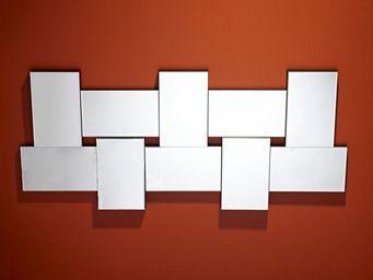 WHITE LABEL - louxor miroir mural design en verre - Miroir