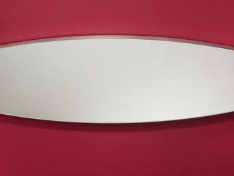WHITE LABEL - surf miroir mural design en verre grand mod�le - Miroir