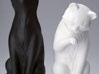 La Chaise Longue - serre-livres chats noir et blanc (lot de 2) - Serre Livres