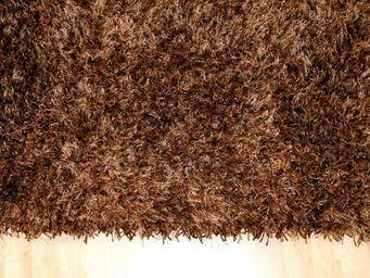 WHITE LABEL - feeling tapis épais marron - 140x200 cm - Tapis Contemporain