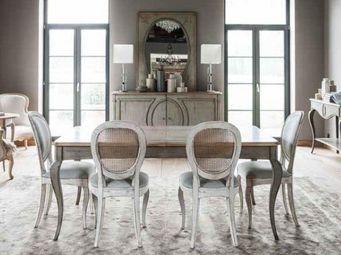 Grange - medaillon - Table De Repas Rectangulaire