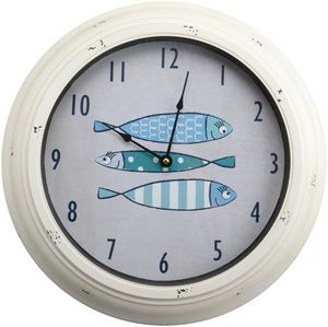 Amadeus - horloge d�co poissons - Horloge Murale
