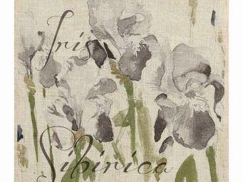 Interior's - tableau d�coratif iris - Tableau D�coratif