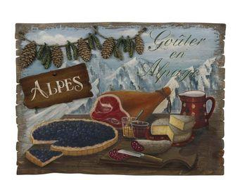 Interior's - enseigne gouter en alpage - Décoration Murale