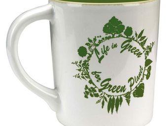 Interior's - mug green - Mug