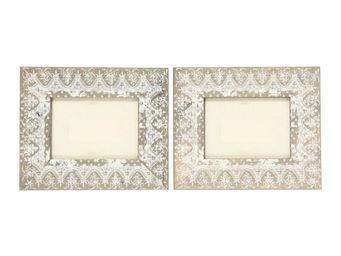 Interior's - cadre photo dentelles jeanne - Cadre Photo