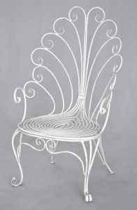 Demeure et Jardin - fauteuil trone collection paon - Fauteuil De Jardin