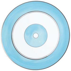 Raynaud - cristobal turquoise - Plat Rond
