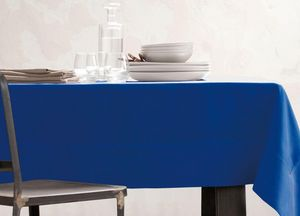 BLANC CERISE - delices de lin indigo  - Nappe Rectangulaire