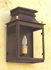 Lanternes D'autrefois - Vintage Lanterns -  - Demi Lanterne Murale D'extérieur