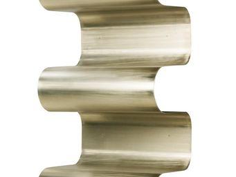 Mathi Design - biblioth�que en aluminium pli� - Biblioth�que Ouverte