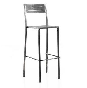 Mathi Design - tabouret brush - Chaise Haute De Bar