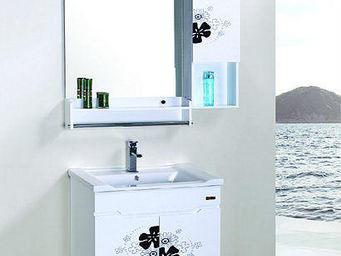 UsiRama.com - petit meuble salle de bain ink 60cm - Meuble De Salle De Bains