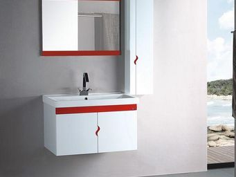 UsiRama.com - meuble de salle de bains suspendu jordan 80cm - Meuble Vasque