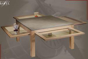 BATEL -  - Table Basse Avec Rallonge