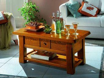 Ateliers De Langres - nogent - Table Basse Rectangulaire