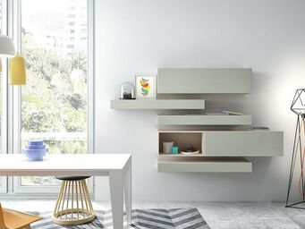 Atylia - biblioth�que - Etag�re Murale Multiple