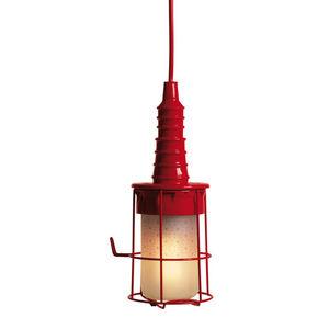 SELETTI - ubiqua - lampe baladeuse rouge | lampe à poser sel - Suspension