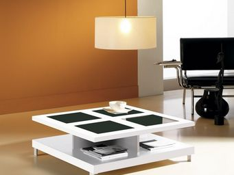 Atylia - table basse design - Table Basse Carrée