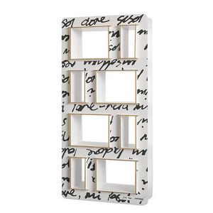 Corvasce Design - libreria in cartone pisk - Bibliothèque