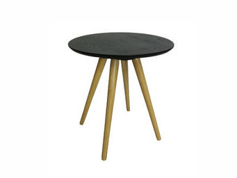 MyCreationDesign - mini sienne noir - Table Basse Ronde