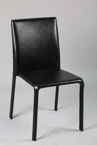 WHITE LABEL - chaise diva en pvc - Chaise