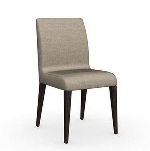 Calligaris - chaise eudora de calligaris piétement wengé assise - Chaise