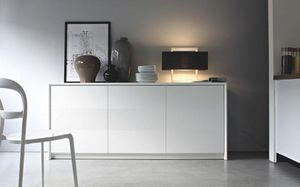 Calligaris - buffet password de calligaris blanc 3 portes - Buffet Bas