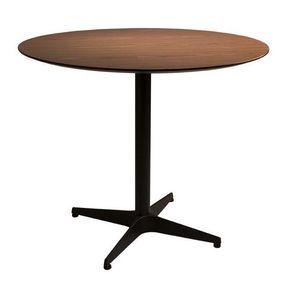 WHITE LABEL - table repas nuts de dutchbone 90 x 75 cm - Table De Repas Ronde