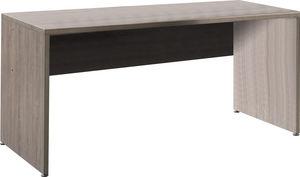 WHITE LABEL - bureau moderne et tendance 180cm coloris chêne fon - Bureau
