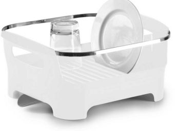 Umbra - egouttoir à vaisselle avec bec de drainage amovibl - Egouttoir