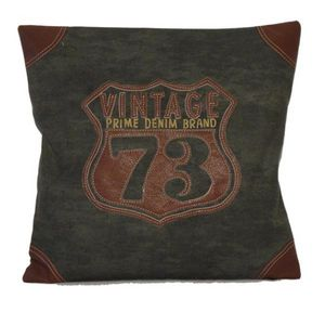 SHOW-ROOM - vintage denim 73 - Coussin Carré