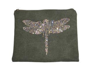 BYROOM - green dragonfly  - Housse Ipad