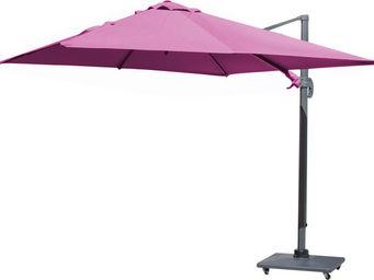 PROLOISIRS - parasol déporté carré 3 mètres - Parasol