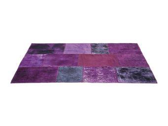Kare Design - tapis patchwork violet 170x240cm - Tapis Contemporain