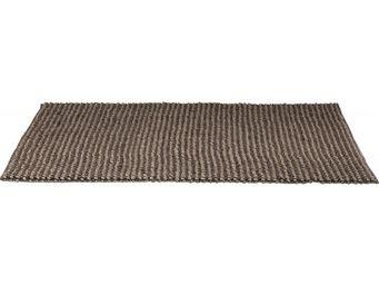 Kare Design - tapis en laine knot marron 170x240 - Tapis Contemporain