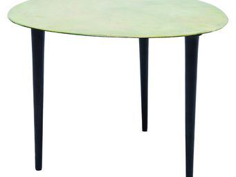 Kare Design - table basse design egg vintage verte 46x49 cm kare - Table Basse Forme Originale