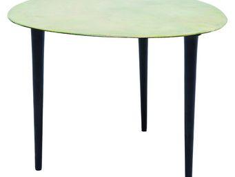 Kare Design - table basse design egg vintage verte 46x49 cm kare - Table Basse Forme Originale