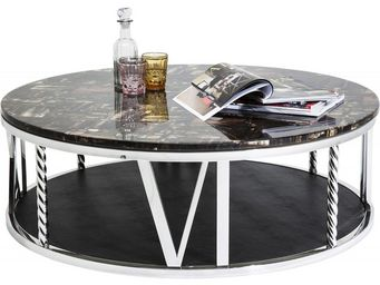 Kare Design - table basse ronde numerics 105 cm - Table Basse Forme Originale
