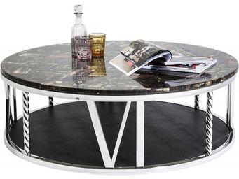 Kare Design - table basse ronde numerics 105 cm - Table Basse Forme Originale