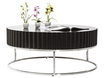 Kare Design - table basse furioso 90cm - Table Basse Ronde