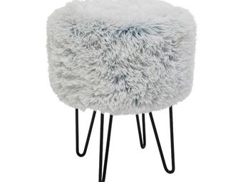 Kare Design - tabouret fur polar - Tabouret