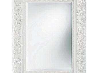 Kare Design - miroir tendance opulence blanc 95x125 - Miroir