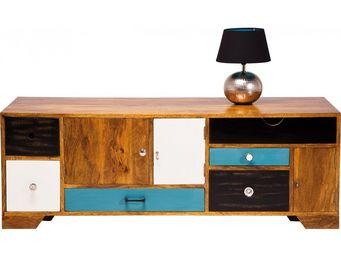 Kare Design - meuble tv en bois babalou 130x50 cm - Meuble Tv Hi Fi